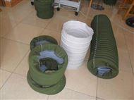 耐高温硅胶布伸缩通风管供应
