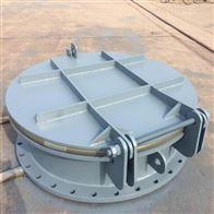 河北圆形钢制拍门dn600