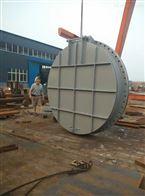 DN500钢制拍门的结构特点