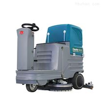 駕駛式雙刷車間地面洗地機醫院清潔拖地車