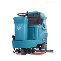 駕駛式雙刷洗地機地下室車庫環氧地坪清洗機