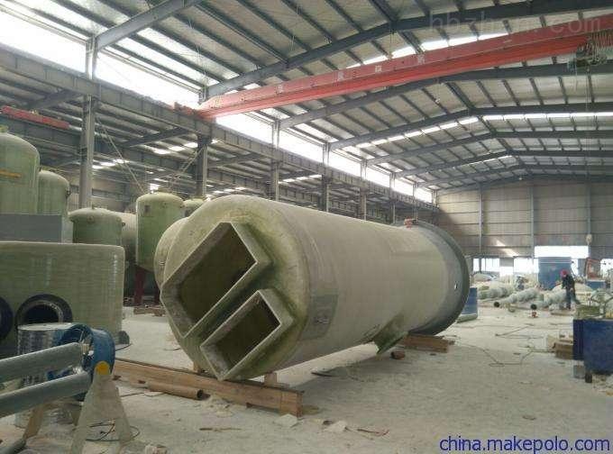 鹰潭 玻璃钢污水预制泵站