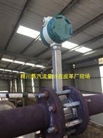 JCVF人造革厂蒸汽流量计从同行厂里看到精川品牌