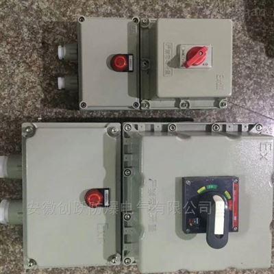 BLK防爆断路器 漏电保护