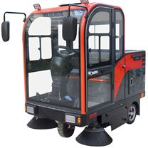 电子厂区电动扫地车