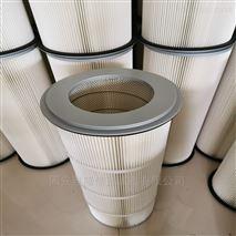法蘭式濾筒360*1000 圓法蘭聚酯纖維濾筒