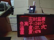 在線式空氣負離子溫濕度檢測儀