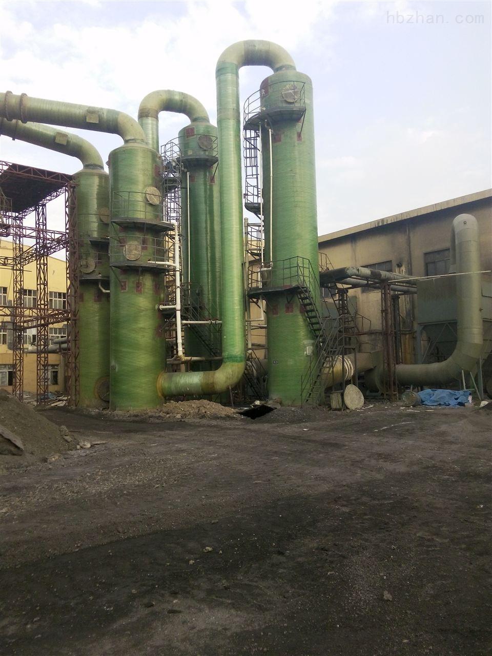 中卫玻璃钢脱硫脱硝除尘器厂家