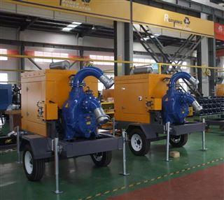 拖车式柴油机泵