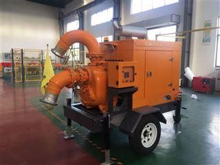 2000方大流量排水移动泵车