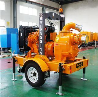 便携式移动排水泵车