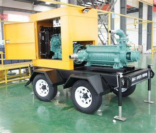 拖车式移动泵站