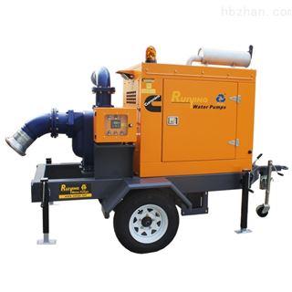 抢险应急排涝泵车