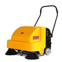 潔樂美雙刷電動掃地機手推式工廠車間