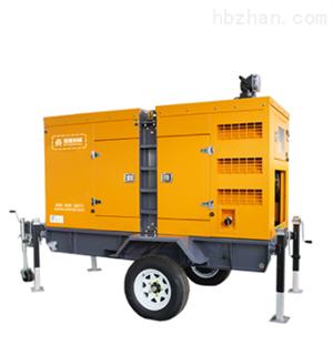 移动式静音柴油发电机组