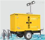 城市发电排水一体泵车