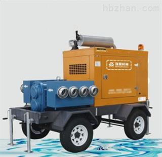 拖车式排水泵车