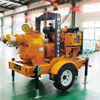 开架型发电排水可移动式泵车