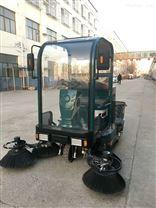 江西清掃粉塵樹葉沙石用電動掃地車