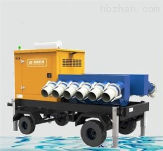 防汛移动灌溉泵站