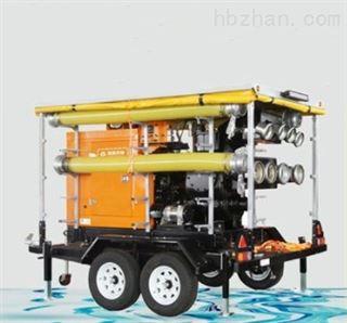 1200方防汛抢险移动式柴油机水泵