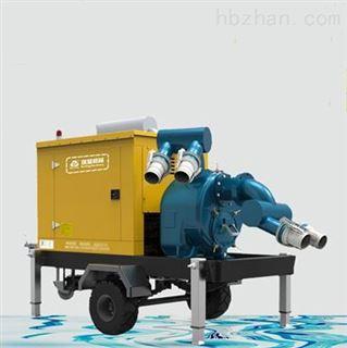 防汛抗旱排涝移动泵车