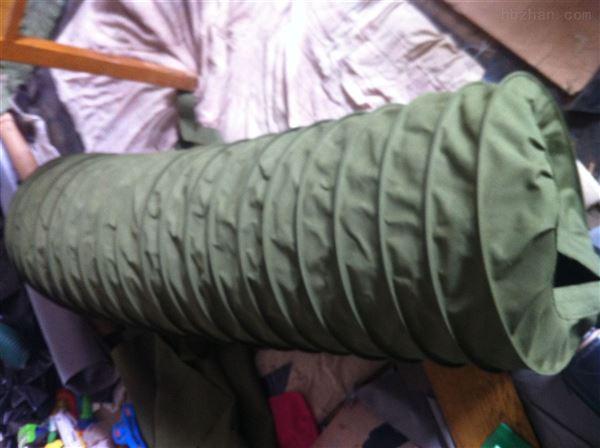 散装机除尘加厚帆布伸缩布袋