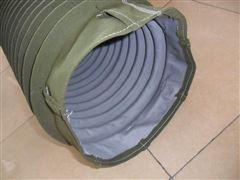 水泥卸料专用帆布伸缩布袋  厂家直供