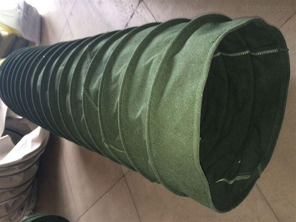 通风除尘伸缩布袋常年生产