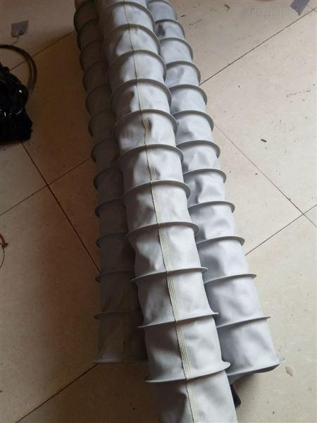 抗老化优质帆布通风除尘伸缩布袋  厂家