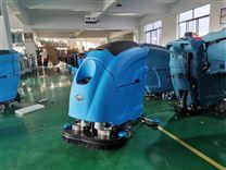 苏州手推式洗地机-工厂车间电瓶拖地机