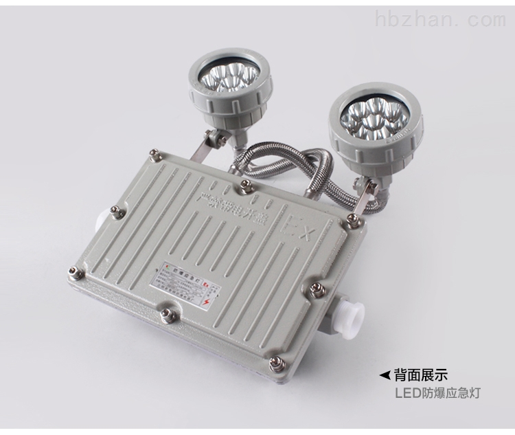 照明应急两用灯BAJ51-2×3W双头LED防爆灯