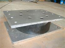 建筑隔震橡胶支座应用在钢结构桁架连廊天桥