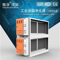 GX5032-2工业油烟净化器 热处理油雾净化低空排放