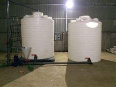 PT-8000L六安8吨塑料纯水罐  清洗剂溶药罐