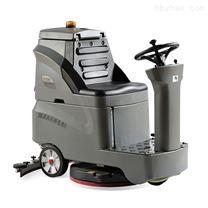 高美驾驶式洗地车全自动车库物业清洁机