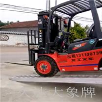 北京久达大象牌杭州叉车杭叉4.2米爬梯