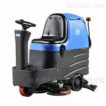 陕西清洗机厂家 商场用容恩驾驶式洗地机