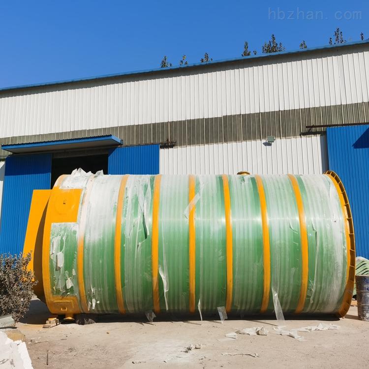 曲靖玻璃钢一体化预制泵站工艺流程