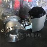 FQ641F不锈钢316L气动放料球阀