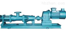 单螺杆泵--固定齿轮箱转速