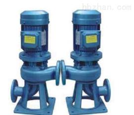 立式無堵塞排汙泵LW50-25-32-5.5