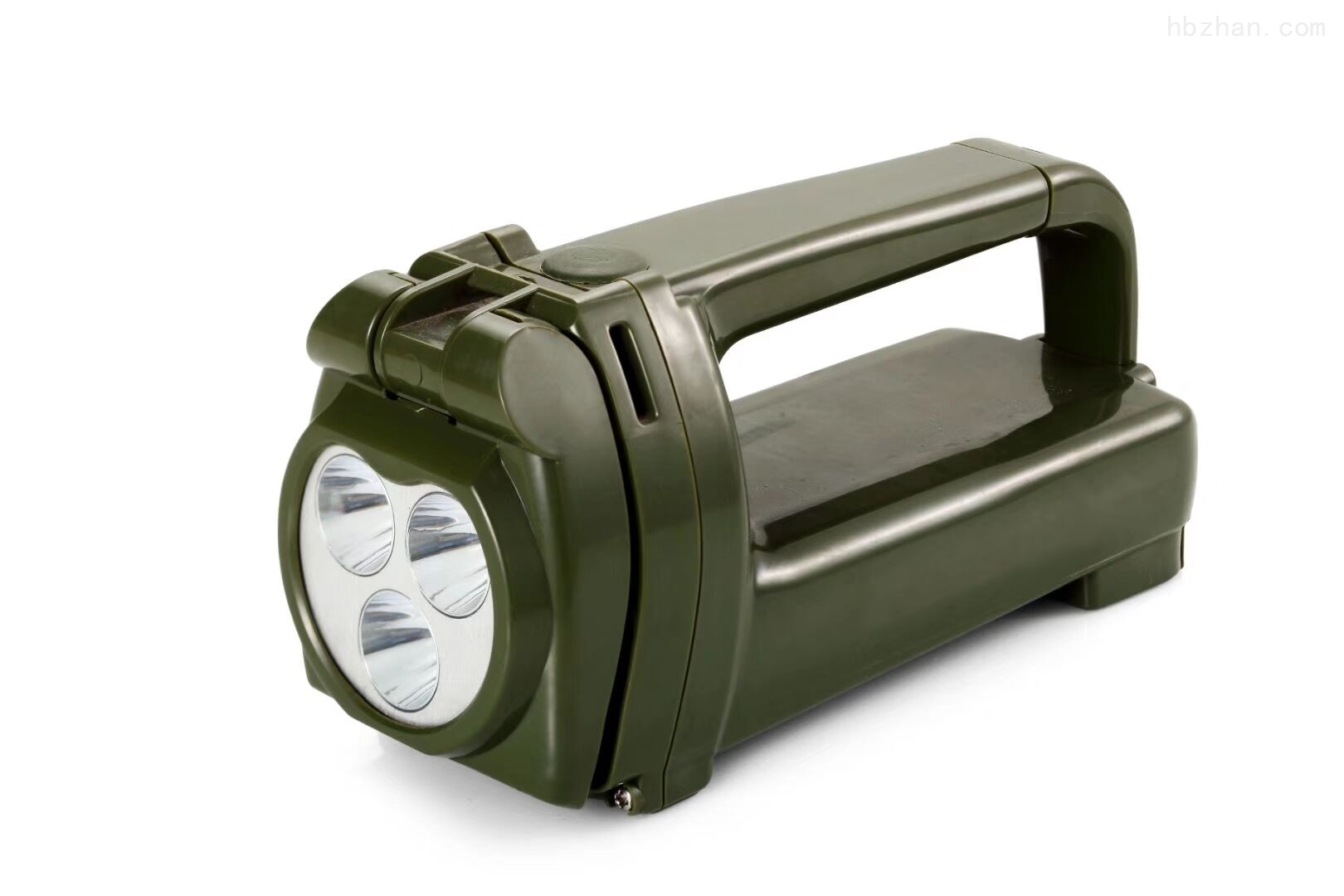 JGQ231班用LED9W强光手提搜索灯手摇发电灯