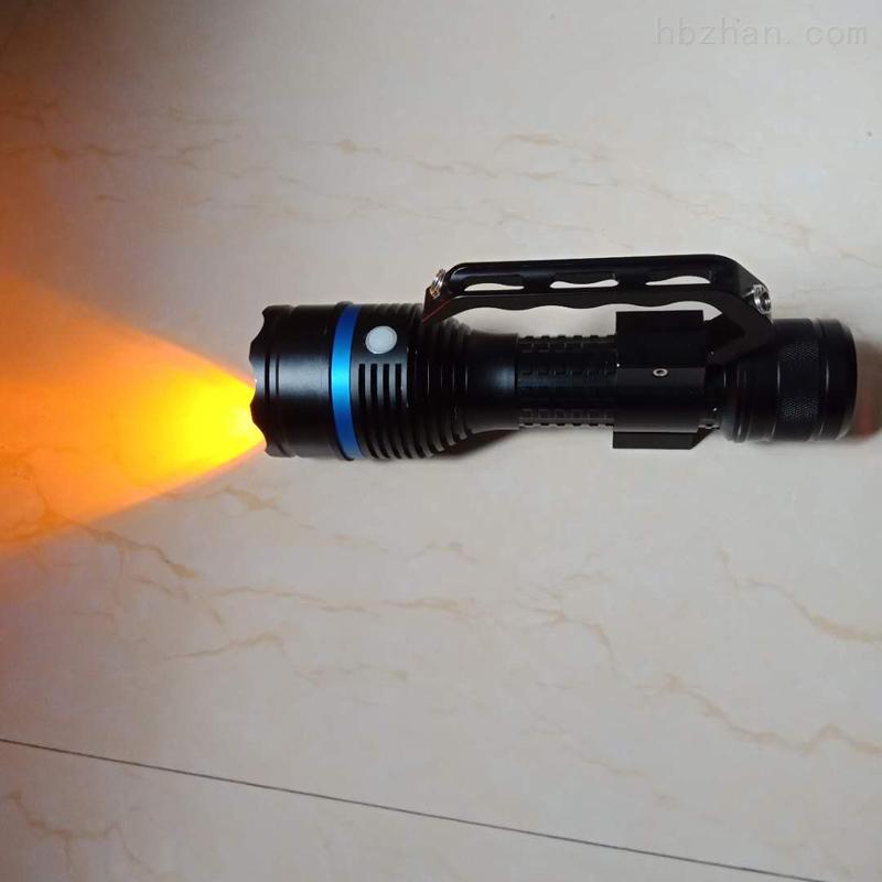 暖白光LED强光防爆防雾手提灯搜索灯勘察灯