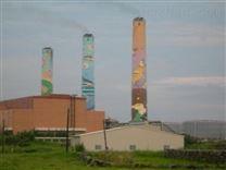 大庆烟囱刷色段施工项目
