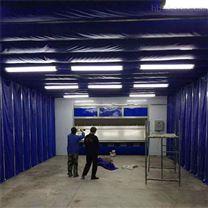 喷漆房打磨房遮阳棚多功能伸缩房定制价格
