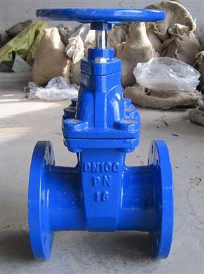 Z45F46-10C DN80根河市阀门 铸钢衬氟手动暗杆式闸阀