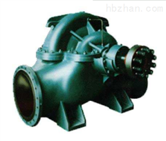 蜗壳式双吸离心泵中开泵