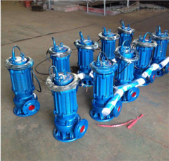 QW100-85-20-7.5潜水式无堵塞排污泵
