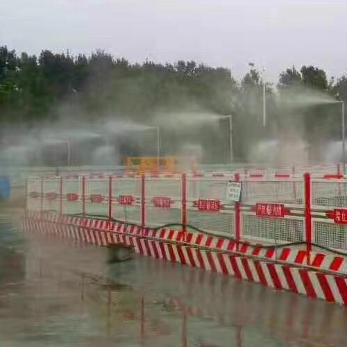 十堰围挡喷淋系统石料厂房喷雾系统耐用环保